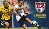 US Soccer Federation - Duplicate - Bedford Park: $20 for Two Sideline Tickets to the U.S. vs. Italy FIFA Women's World Cup Qualifier on Nov. 27, Plus a 2010 Team Yearbook ($50 Value)