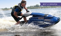 One-Hour Stand-Up Jet Ski Lesson for One or Two with Jetski Safari Loch Lomond (51% Off)