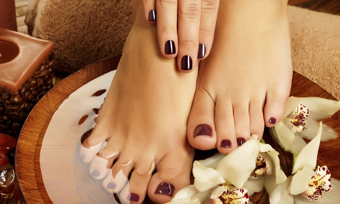 Remarkable You Nails LLC - Westland: A Manicure and Pedicure from Remarkable You Nails - Hair and More (55% Off)