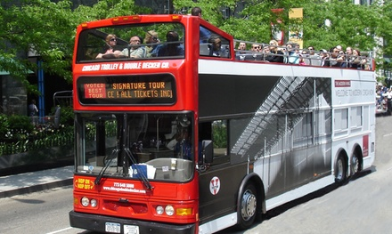 48Hour or Daytime Passes to Guided Tours from Chicago Trolley & Double Decker Co. (Up to 29% Off)