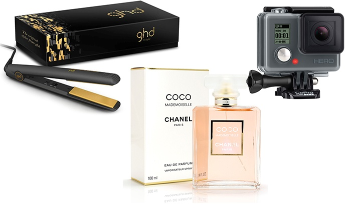 ddee47e981b Mystery Fragrance, GHD's or iPad? | Groupon Goods