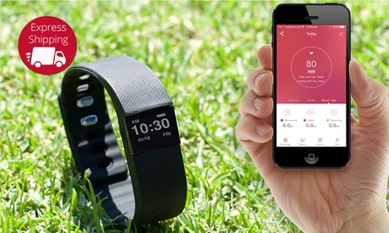 $29.95 for a Bluetooth Activity Bracelet with a Heart Rate Function Don't Pay $199
