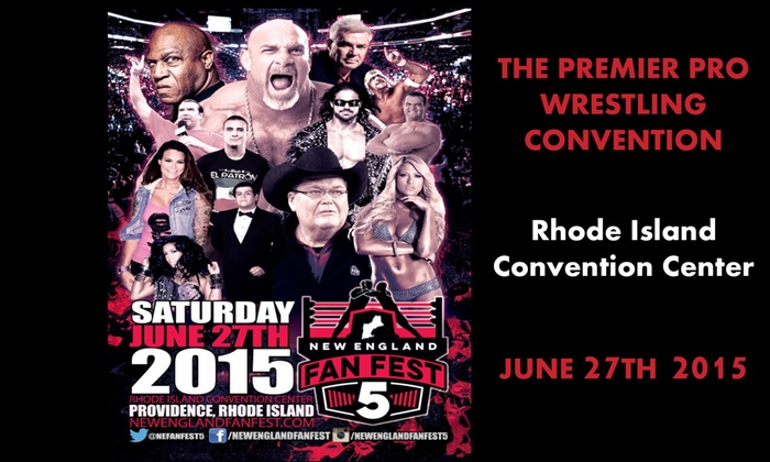New England Fan Fest - Downtown Providence: Up to 52% Off Admission tickets for wrestling convention at New England Fan Fest