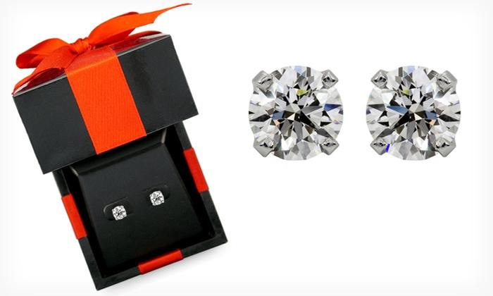 2-Carat Diamond Stud Earrings: $2,299.99 for 2-Carat IGL-Certified Diamond Stud Earrings ($4,349.99 List Price). Free Shipping and Returns.