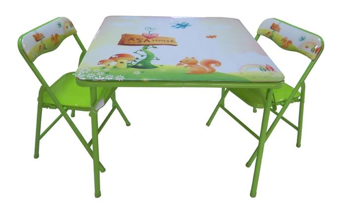 Tavolino Pieghevole Bambini.Set Tavolo E Sedie Per Bambini A 39 Con Spedizione Gratuita 44 Di Sconto