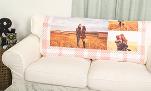 Collage.com: Custom Fleece Photo Baby Blankets from Collage.com (Up to 80% Off). Four Options Available.