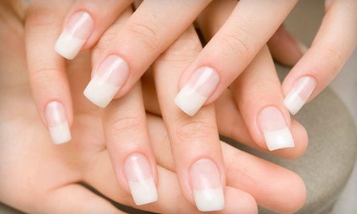 Mona Z Salon & Spa - Highland Creek: Mani-Pedi or One-Hour Swedish Massage at Mona Z Salon & Spa in Huntersville (Up to 57% Off)