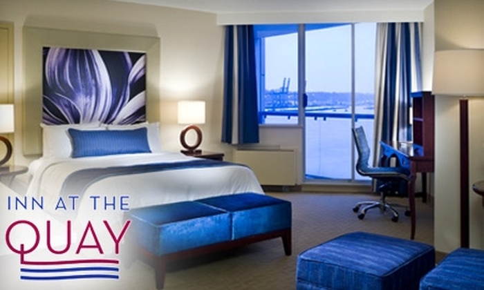 Inn at the Quay - Downtown: $99 for Wine Tasting and Hotel Package at Inn At The Quay in New Westminster (Up to $200 Value)