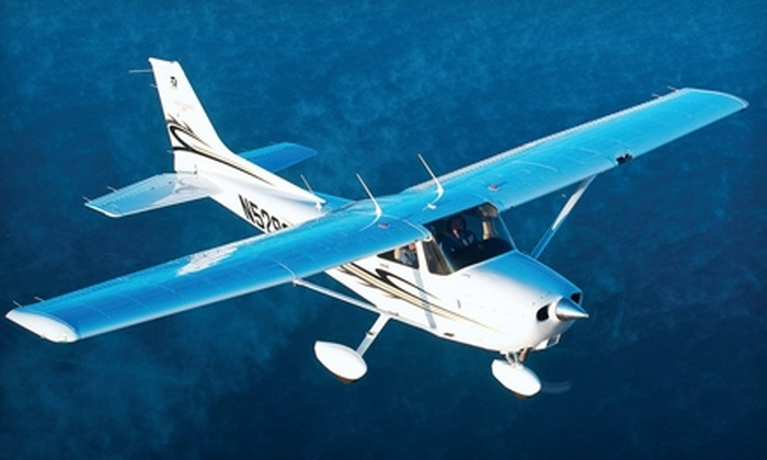 JacksonAir Flight Training - Thermal: $89 for One 90-Minute Flight Lesson from JacksonAir Flight Training in Thermal ($179 Value)