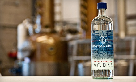 Distillery Tour and Tasting for 2, Plus $20 Worth of Spirits or Merchandise (a $30 value) - 45th Parallel Spirits in New Richmond