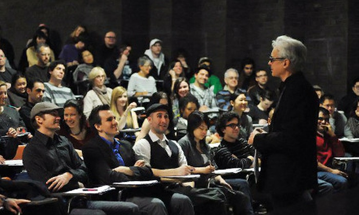 Raindance Filmmaking - Toronto: Film Directing and Acting Master Class, Screenwriting Course, or Intro to Filmmaking Course at Raindance Toronto (Up to 72% Off)