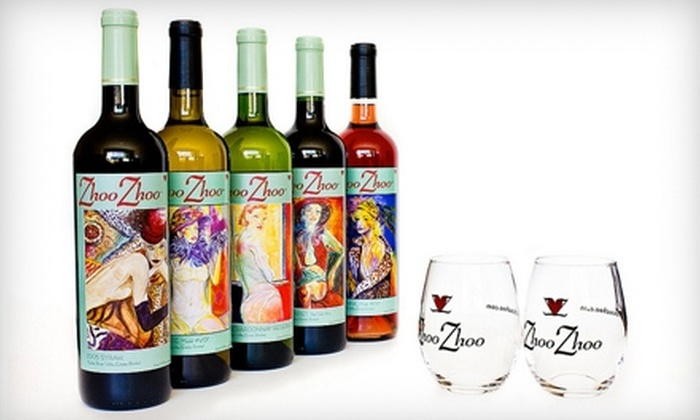 Zhoo Zhoo - Huston: $49 for a Secret Admirer Package of Zhoo Zhoo Wines to be Picked Up ($106 Value) or $59 to be Shipped ($116 Value)