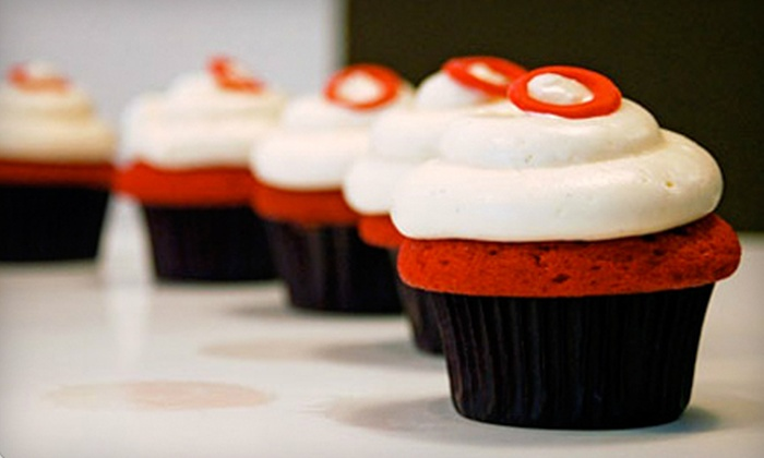 Heavenly Cupcake - Central San Diego,Downtown,Gaslamp: $20 for a Dozen Cupcakes in Designer Gift Box at Heavenly Cupcake ($43 Value)