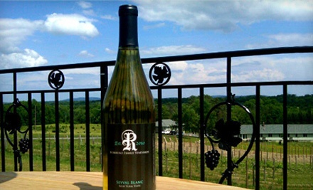 Wine Tasting and Souvenir Etched Wineglasses for 2 People (a $20 value) - Robibero Family Vineyards in New Paltz