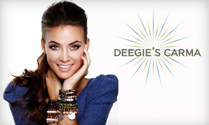 Deegie's Carma - North Scottsdale: $50 for a Facial, Blowout, and Mani-Pedi at Deegie's Carma