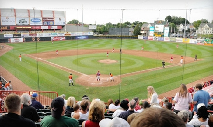 Erie SeaWolves at Jerry Uht Park - East Erie: $19 for a Ticket Package to an Erie SeaWolves Baseball Game ($38 Value). Four Dates Available.