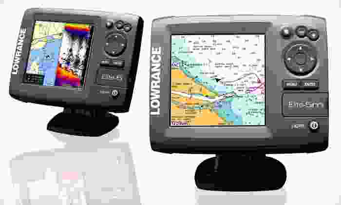 Lowrance GPS Chartplotters: Lowrance Elite-5m Chartplotter or Elite-5 Chartplotter/Fishfinder with Navionics Gold (Up to 41% Off). Free Shipping.