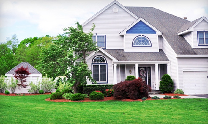 SJM Pro Grounds - Washington DC: $35 for Crabgrass Prevention, Fertilizer, and Weed Control for Up to 6,000 Square Feet from SJM Pro Grounds ($75 Value)