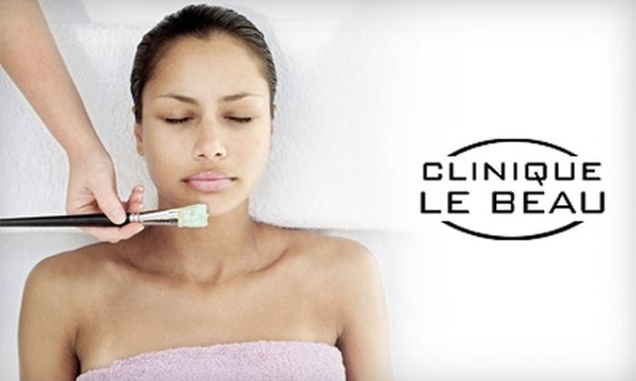 Clinique Le Beau - Los Angeles: $60 for a Chocolate Yummy Le Beau Facial at Clinique Le Beau in Studio City ($129 Value)