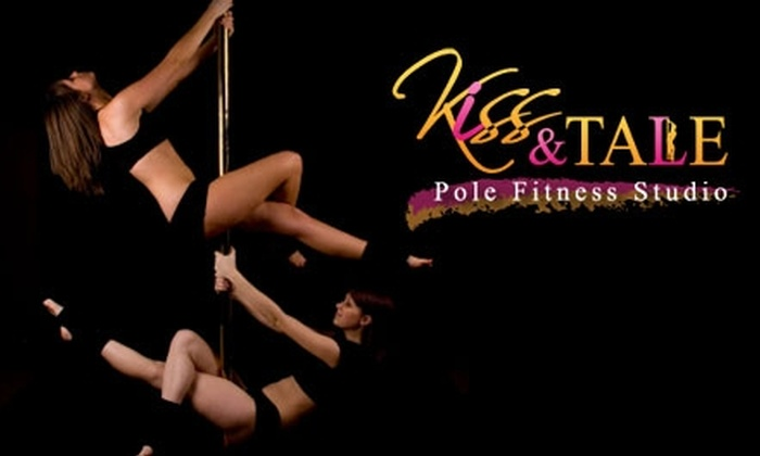 Kiss N Tale Pole Fitness - Downtown: $45 for Three One-Hour Classes at Kiss N Tale Pole Fitness (Up to $105 Value)