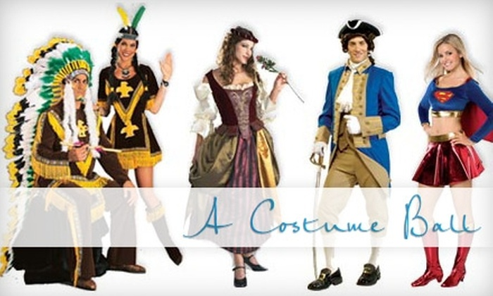 A Costume Ball - Northeast Cobb: $20 for $40 Worth of Costumes and Accessories at A Costume Ball