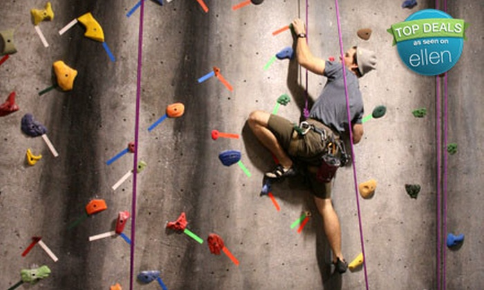Urban Rocks Gym - Amnicola - East Chattanooga: Rock-Climbing Pass and Rental Gear for One or Pass, Gear, and Belay Lesson for Two at Urban Rocks Gym (Half Off)