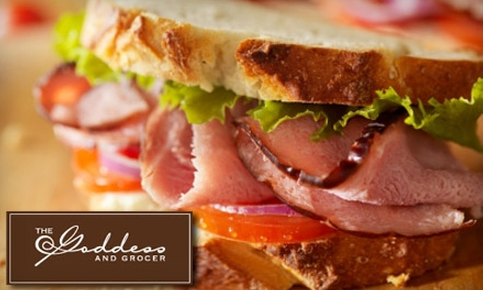 The Goddess and Grocer - Multiple Locations: $5 for $10 Worth of Gourmet Foods, Deli Fare, and More at The Goddess and Grocer