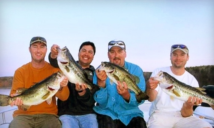 Greggofish Guide Service - New Hill: $99 for Family Fishing Trip for Four on Shearon Harris Lake from Greggofish Guide Service ($230 Value)