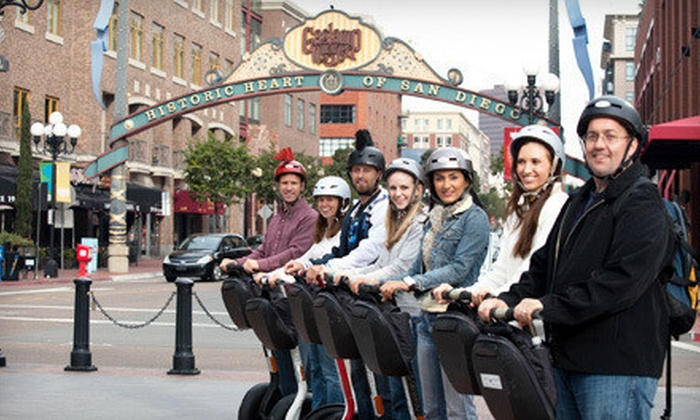 Another Side Of San Diego Tours - Horton Plaza: $49 for a Two-Hour Segway Tour of Balboa Park or San Diego from Another Side Of San Diego Tours ($149 Value)