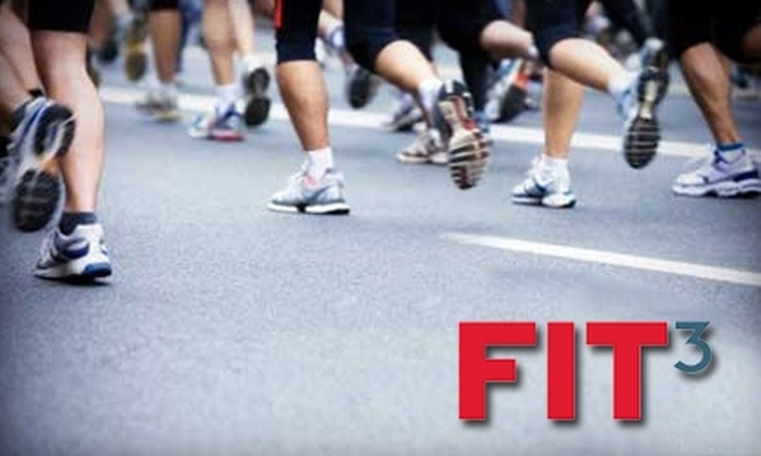 Fit3 - Dranesville: $25 for $50 Worth of Running Shoes, Apparel, and Accessories at Fit3