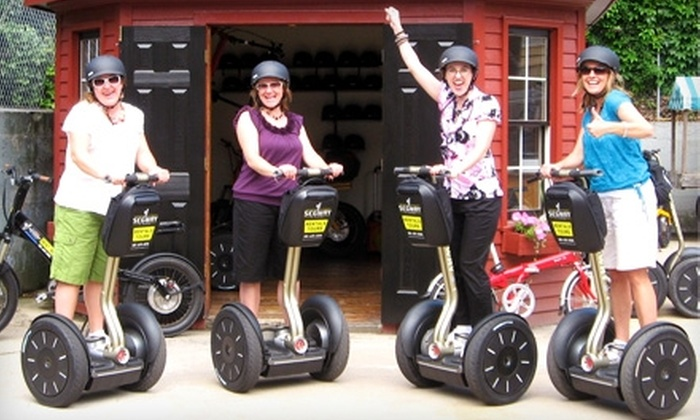 Segway Of Newport - Hartford: $38 for Historic Mansion Tour from Segway of Newport (a $75 Value)