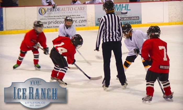 The Ice Ranch - Littleton: $30 for a Six-Week Learn to Skate Session ($60 Value) or $45 for a Six-Week Learn to Play Hockey Session ($90 Value) at The Ice Ranch in Littleton