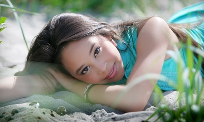 """Ladybug Photography - Multiple Locations: $59 for One-Hour High-School-Senior Photography Session and Two 5"""" x 7"""" Prints from Ladybug Photography ($215 Value)"""