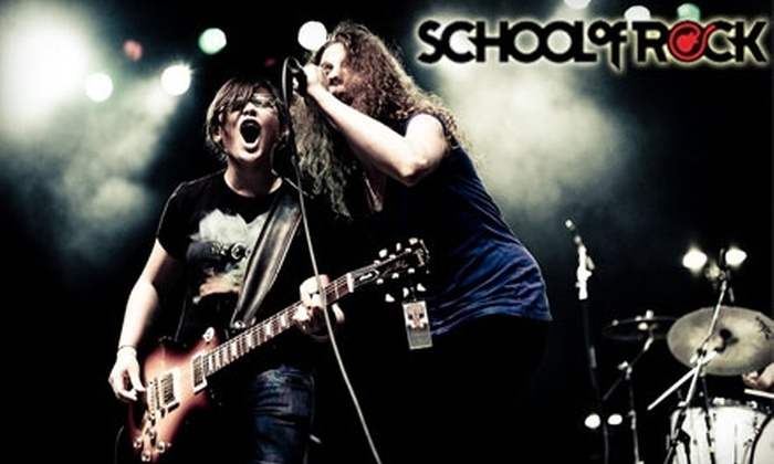 School of Rock - Sandy: $40 for Four 30-Minute Introductory Music Lessons at the School of Rock ($175 Value)