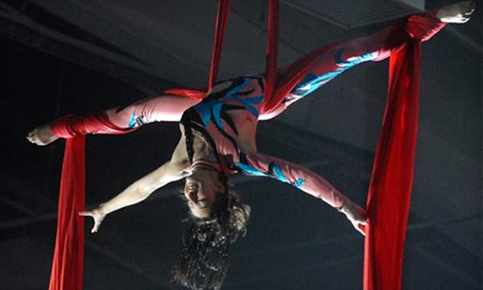 Cirque Mondo - North End: Circus Mondo Outing for Family of Two or Four at Halifax Forum on June 9 at 1 p.m., 4 p.m., or 7 p.m. (Up to 51% Off)