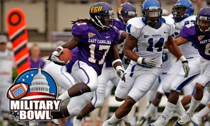 Military Bowl - Northeast Washington: $27 for Premium Reserved Ticket to the Military Bowl ($55 Value)