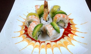 Ai Sushi Sake Grill: Sushi and Japanese Cuisine at Ai Sushi Sake Grill (45% Off)