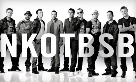 Live Nation: New Kids on the Block and Backstreet Boys at the Honda Center on Wed., Jul. 6 at 7:30PM: Sections 401408 and 437444 ($34 Value) - New Kids on the Block and Backstreet Boys at the Honda Center in Anaheim