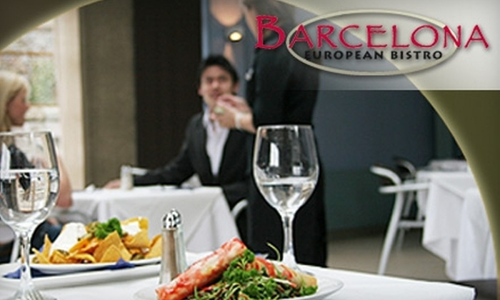 Barcelona Bistro - Pitman: $20 for $40 Worth of Spanish-Mediterranean Fare and Drinks at Barcelona Bistro in Pitman
