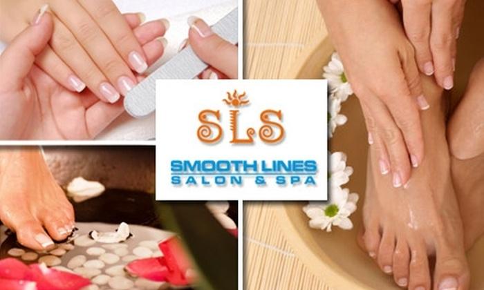 Smooth Lines Salon & Spa - Northwest Side: $30 Express Mani-Pedi at Smooth Lines Salon & Spa ($70 Value)