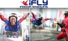 iFly SF Bay - Union City: $40 for Two Flights in a Vertical Wind Tunnel Plus Training and DVD of Your Session at iFly SF Bay ($81.95 Value)