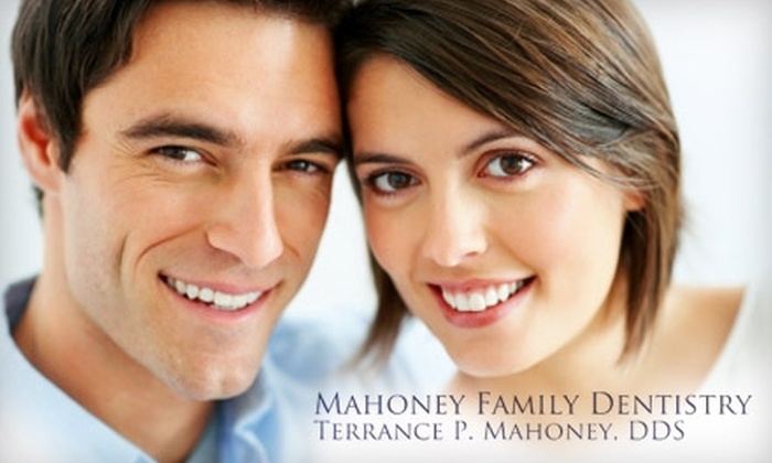 Mahoney Family Dentistry - Clay: $49 for a Dental Exam, Cleaning, and X-Rays ($320 Value) or $49 for a Custom Take-Home Teeth Whitening Kit ($680 Value) at Mahoney Family Dentistry