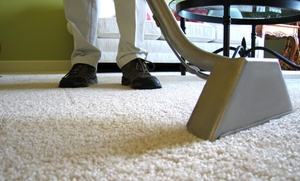 ENG Carpet & Upholstery: Carpet Cleaning for Three Rooms and a Hallway or an Entire Home from ENG Company (Up to 80% Off)
