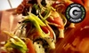 OM Modern Asian Kitchen and Sushi - Ward 3: Wine Flight and Asian Tapas for Two or Four at OM Modern Asian Kitchen and Sushi (Up to 53% Off)