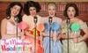 """Plymouth Playhouse - Plymouth: One Ticket to """"The Marvelous Wonderettes"""" at Plymouth Playhouse. Fourteen Performances Available."""