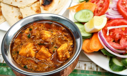 Indian and Nepali Food at Mount Everest Restaurant (Up to 47% Off). Four Options Available.
