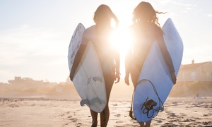Huntington Beach Bargain Surfboard & Bike Rental: Bike or Surfboard Rental from Huntington Beach Bargain Surfboard & Bike Rental (Up to 78% Off). Nine Options.