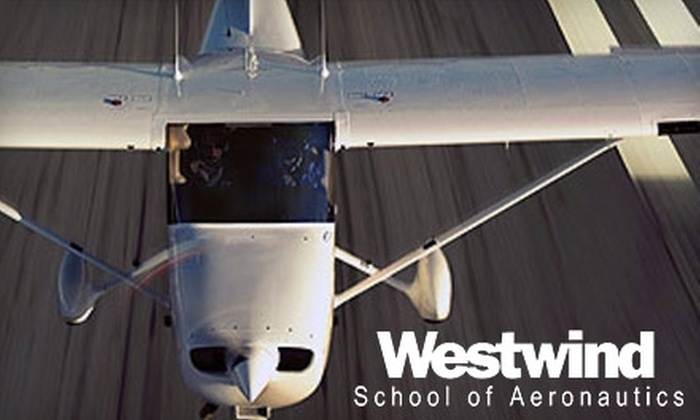 Westwind School of Aeronautics - Deer Valley: $99 for Intro to Flight Experience at Westwind School of Aeronautics ($200 Value)