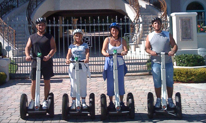 M. Cruz Bicycle Rentals & Segway Tours - Birch Park - Finger Streets: $25 for a 30-Minute Segway Tour from M. Cruz Bicycle Rentals & Segway Tours ($50 Value)
