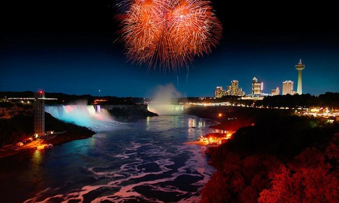 Embassy Suites by Hilton Niagara Falls - Niagara Falls, Canada: One-Night Stay with Dining Credits and Shuttle Passes at Embassy Suites by Hilton Niagara Falls in Niagara Falls, ON